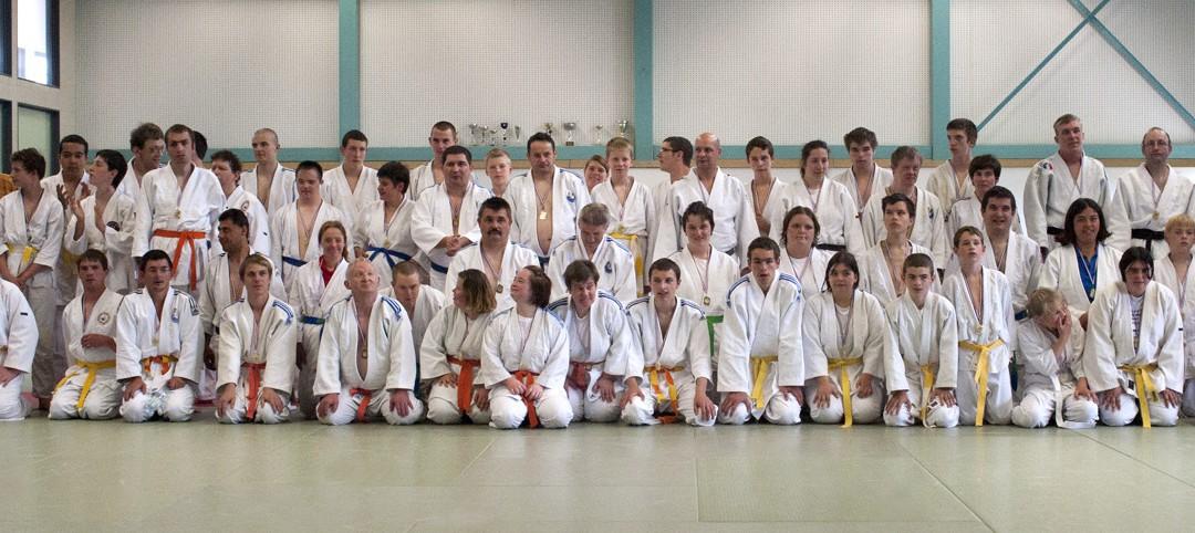 Championnats d'Alsace toutes catégories Judo adapté 2011