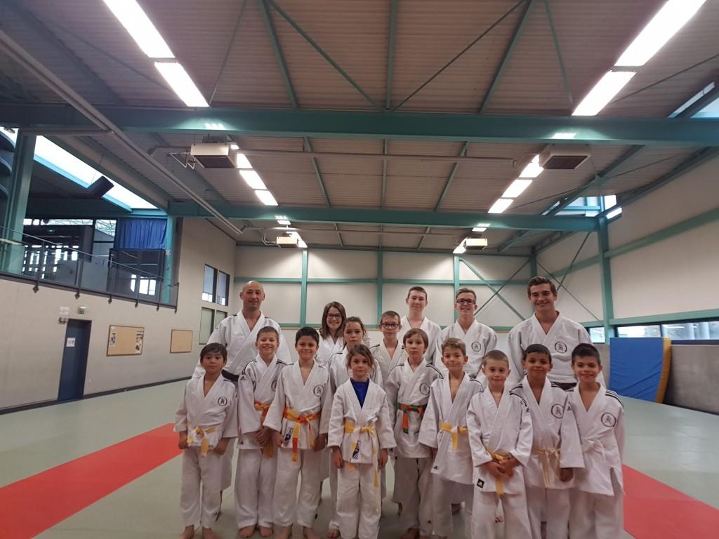 du 29 au 31 octobre 2018 - Stage de judo durant les vacances de la Toussaint