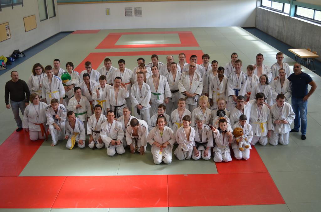13 mars 2019 - Championnat d'Alsace de judo adapté