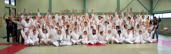 Championnats d'Alsace de judo adapté à Vendenheim le 23 mai 2012