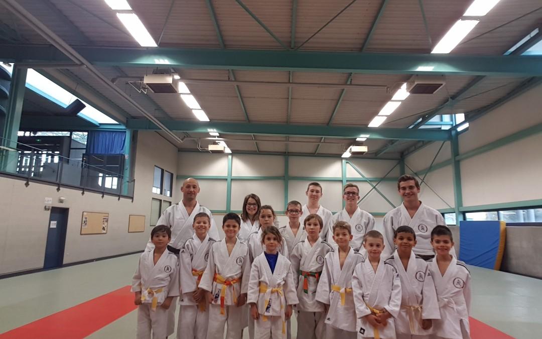 du 29 au 31 octobre 2018 – Stage de judo durant les vacances de la Toussaint