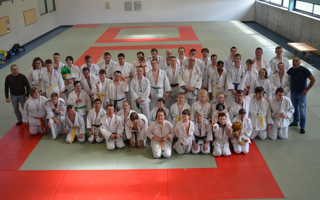 13 mars 2019 – Championnat d'Alsace de judo adapté